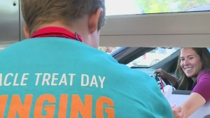 Regina boy giving back on Miracle Treat day