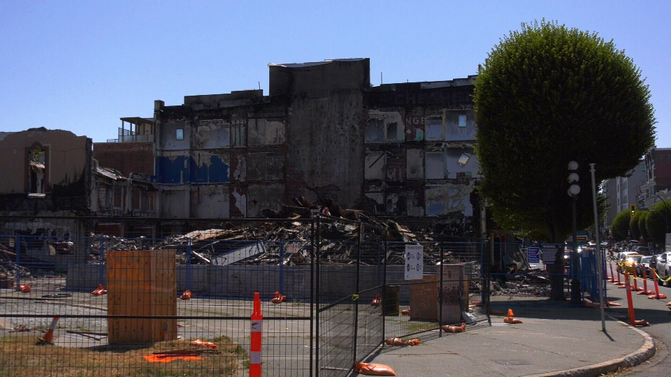 Plaza Hotel wreckage
