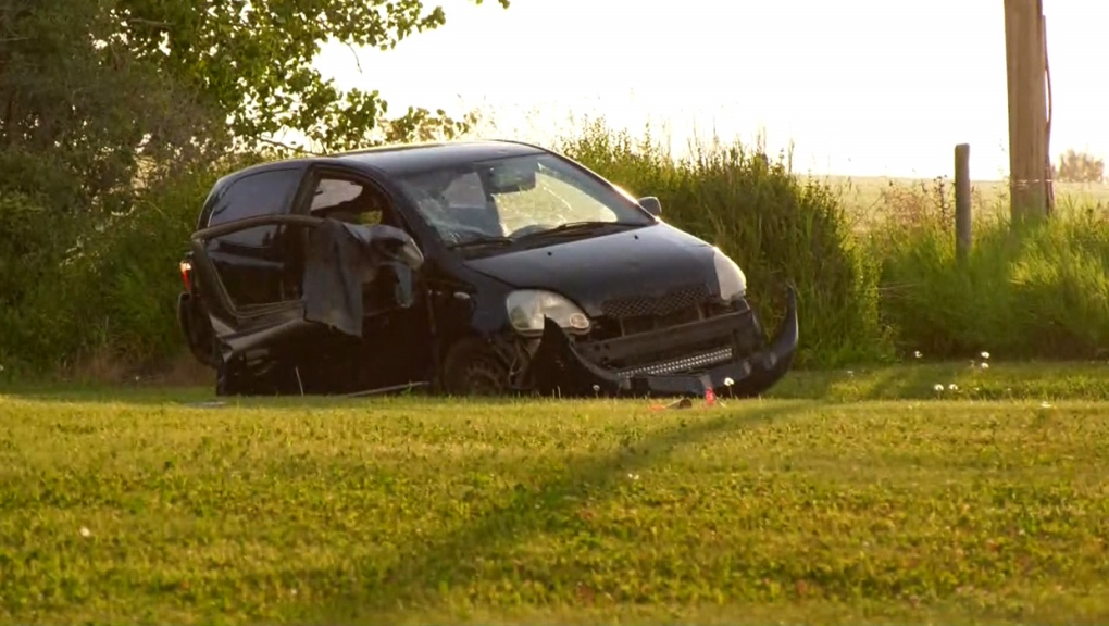 Driver in critical condition following crash northwest of Airdrie