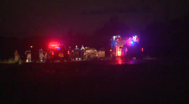 Woman in serious condition after Highway 7 crash