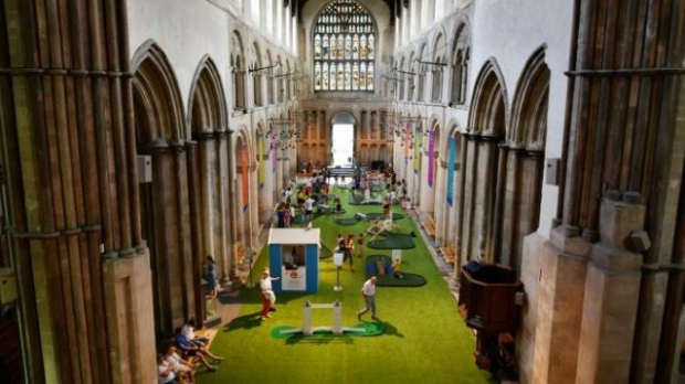 The course is the latest move by the Church of England to stem dwindling congregations in an increasingly secular Britain. (AFP)