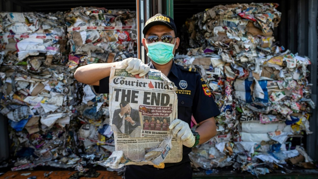 Australia pledges to stop exporting its trash