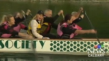 This weekend's Calgary Dragon Boat Race and Festival features 1300 paddlers and dozens of teams