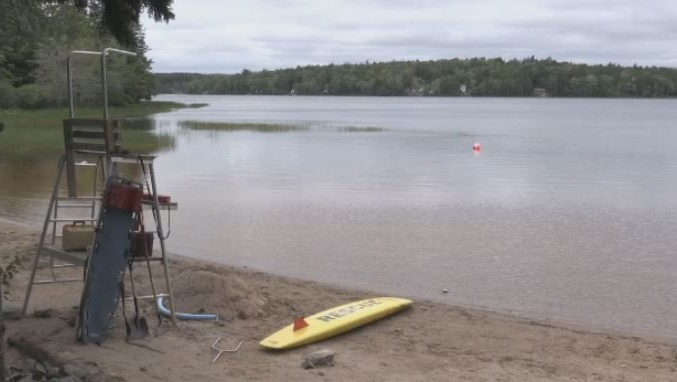 A risk advisory was issued for Sandy Lake in Bedford due to the presence of a possible blue-green algae bloom. The advisory has since been lifted.
