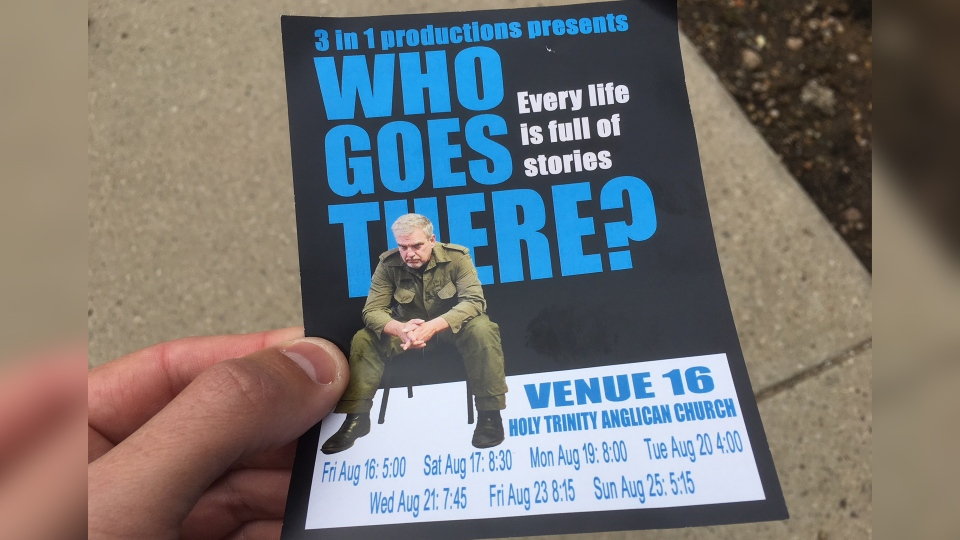 The Edmonton Fringe Festival has cancelled the production of Who Goes There? over the involvement of David Belke.