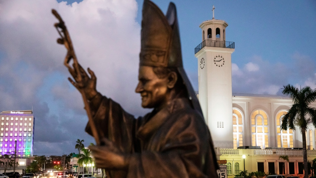 Catholicism ingrained in daily life on U.S. island of Guam