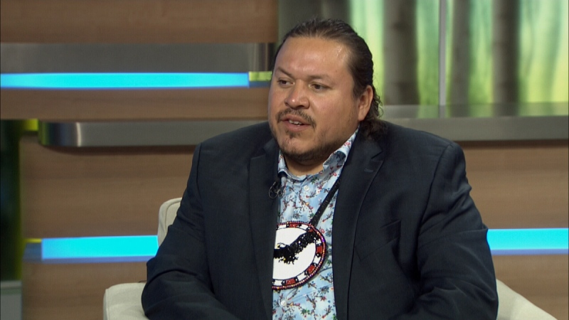 A file image of Grand Chief Jerry Daniels. (Source: CTV News Winnipeg)
