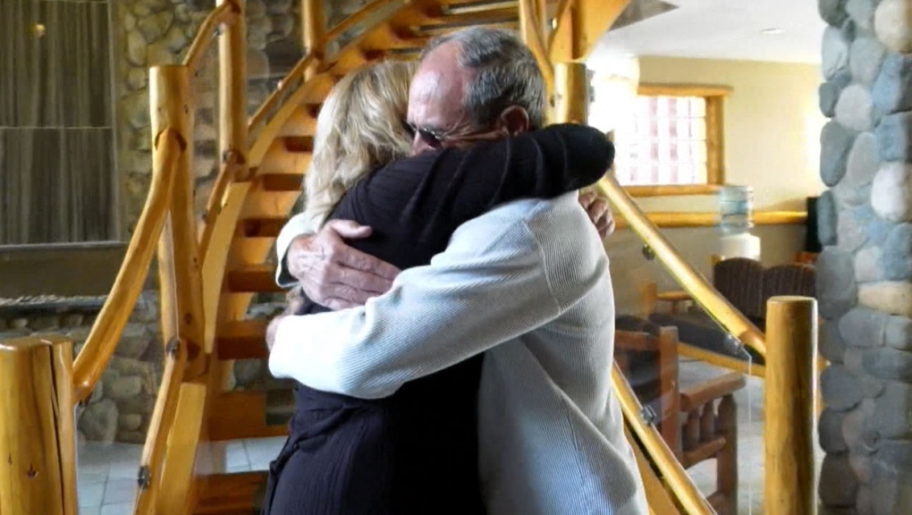 Alberta woman meets her American biological father after 50 years