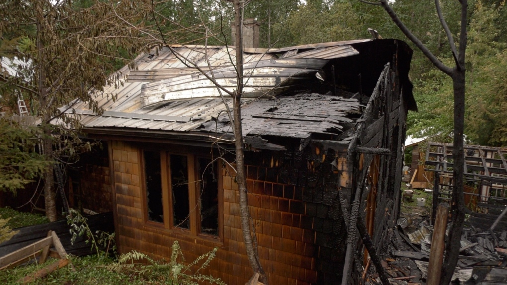 Cumberland double house fire