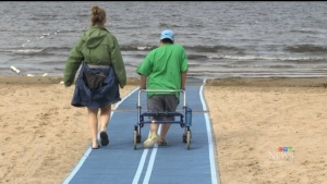 North Bay's accessible beach