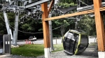 B.C gondola lift collapses