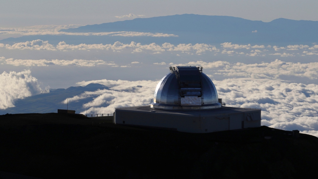 Hawaii telescope