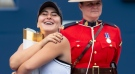 Bianca Andreescu is the first Canadian to win the Rogers Cup in 50 years. (The Canadian Press)