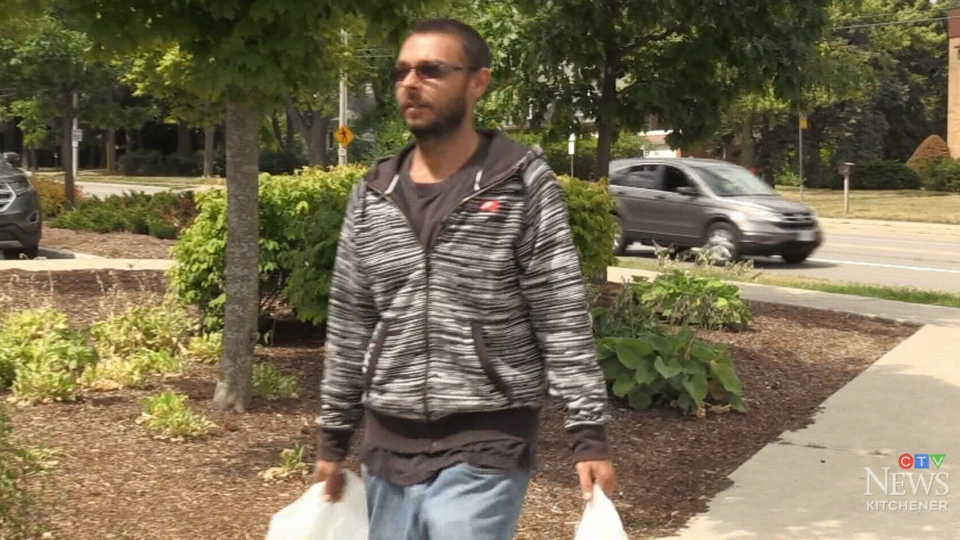 Joshua Maillet, who walks nearly everywhere, is tired of dealing with cyclists on sidewalks.