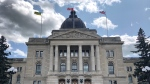 A file photo of the Saskatchewan Legislative Building.