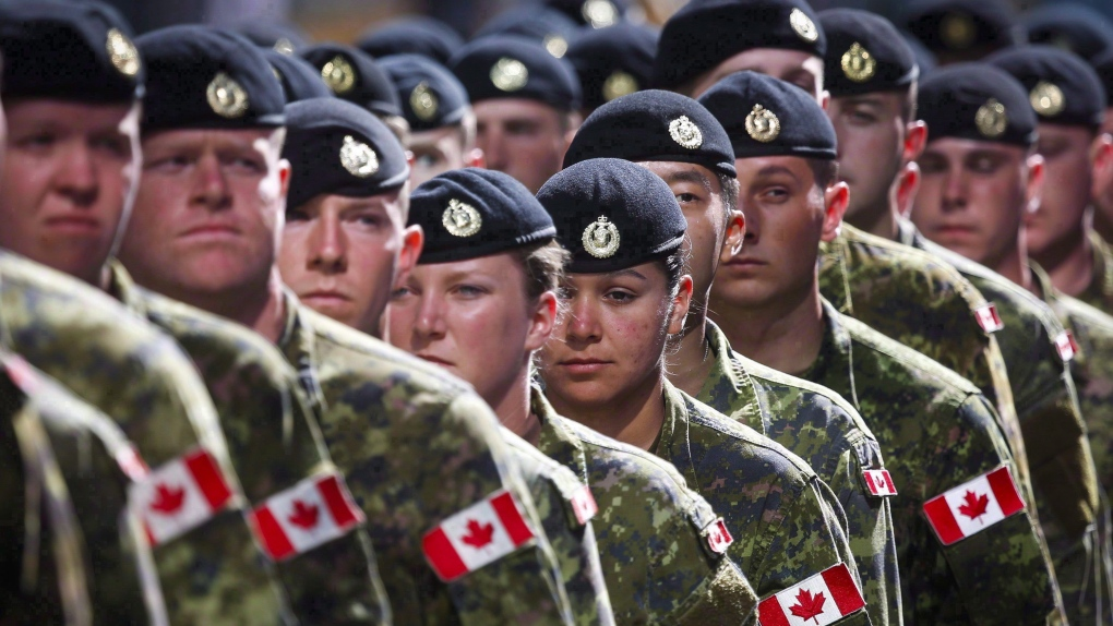Members of the Canadian Armed Forces