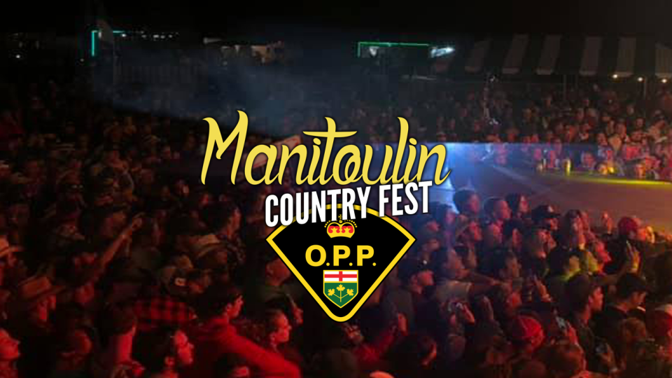 Manitoulin Country Festival OPP sexual assault