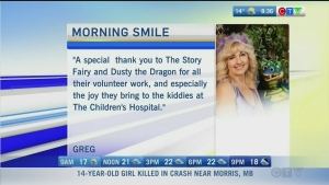 CTV Morning Live Monday Morning Smile for August 1