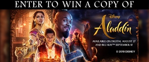 Disney's Aladdin on Blu-Ray Contest