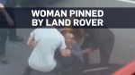 Woman crushed during alleged road rage incident