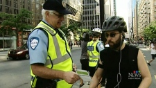 Montreal cyclists ticketed most in country
