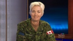 Brigadier-General Jennie Carignan retains command