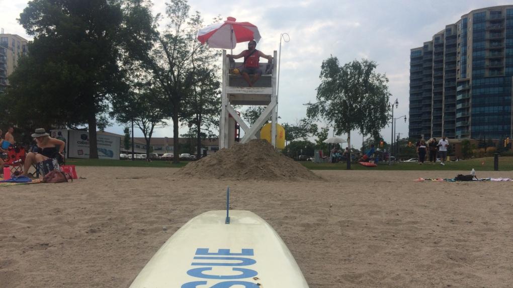 Barrie lifeguard