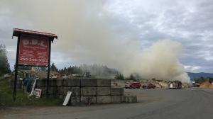 Parksville fire