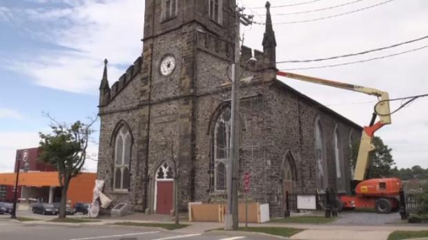 St. John's Church renovation