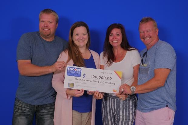 Four Sudbury lotto players win