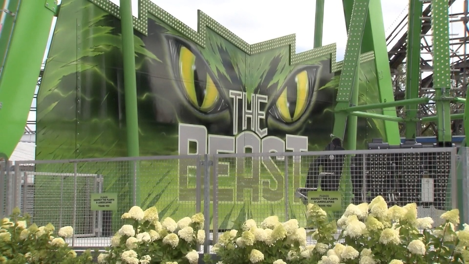 "Playland's ride ""the Beast"" has been shut down indefinitely."