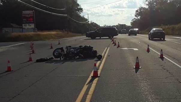 Police lay charges following a motorcyle crash