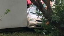 Car hits home