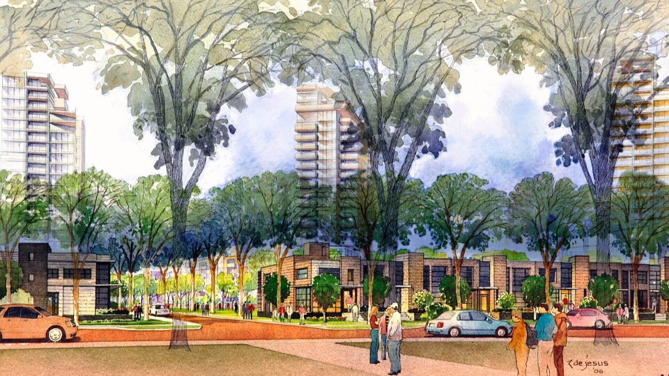 The city and developer are working out the future of Strathearn Heights.