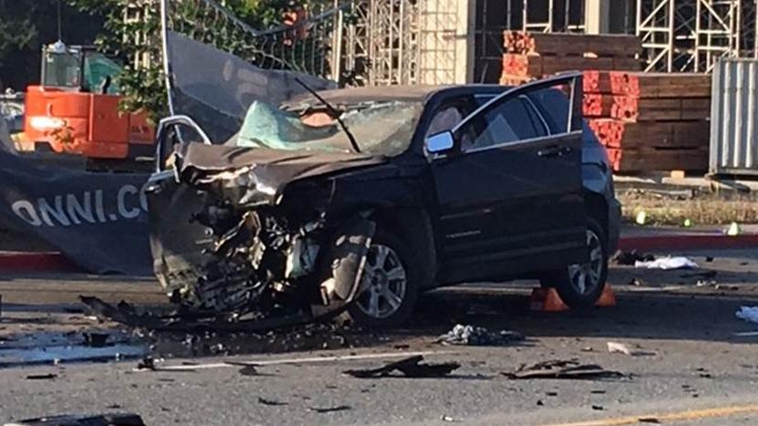 Colwood crash