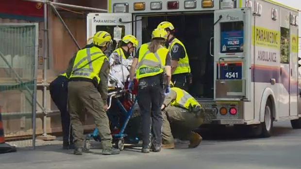 Worker injured falling into elevator shaft