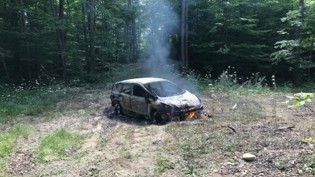Vehicle arson