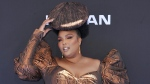 In this June 23, 2019 file photo, Lizzo arrives at the BET Awards at the Microsoft Theater in Los Angeles. (Richard Shotwell/Invision/AP, File)
