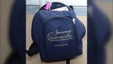 backpack Metchosin murder