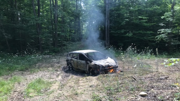 West Grey car arson