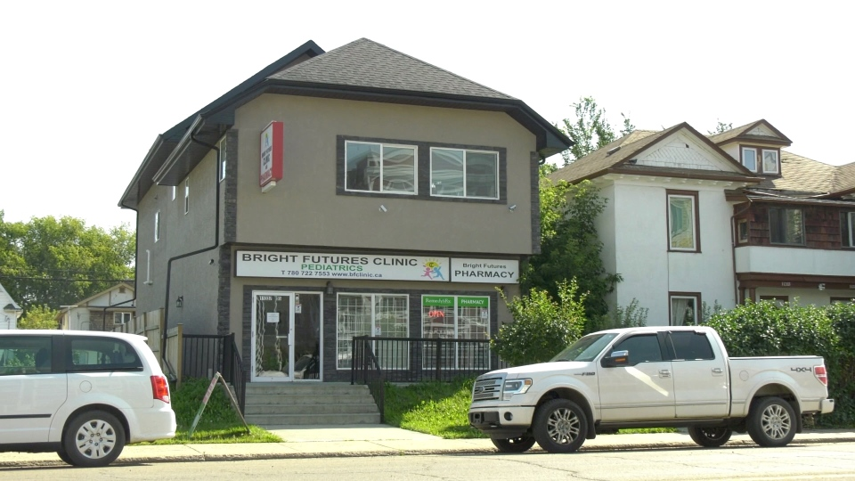 The Bright Futures Pediatrics Clinic in Edmonton