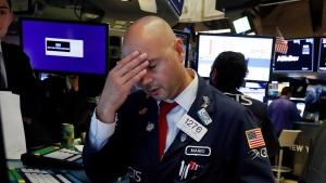 Dow and TSX plunge on fears of recession