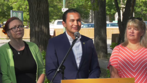 NDP Leader Wab Kinew says he would also expand addictions treatment programs and establish a meth intervention program in Winnipeg. (File image)