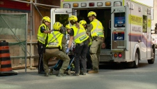 Man seriously hurt in elevator shaft