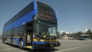 On Wednesday, TransLink showed off one of 32 new two-level busses that will hit the road beginning in October. (CTV)