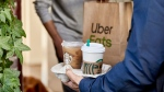 Starbucks has partnered with UberEats for Starbucks Delivers -- the coffee chain's first food and drink delivery service in Canada. (Handout Photo/Starbucks Canada/UberEats)
