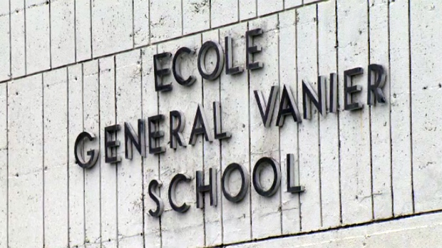 General Vanier School in St. Leonard was seized by the provincial government through a cabinet order.