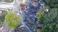 London house explosion
