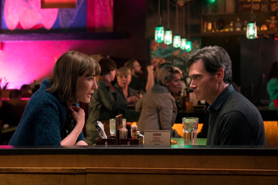 "This image provided by Annapurna Pictures shows Cate Blanchett, left, as Bernadette Fox and Billy Crudup as Elgie Branch in Richard Linklater's ""Where'd You Go, Bernadette,"" an Annapurna Pictures release. (Wilson Webb/Annapurna Pictures via AP)"