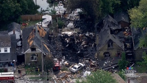 Kitchener woman charged in London house explosion
